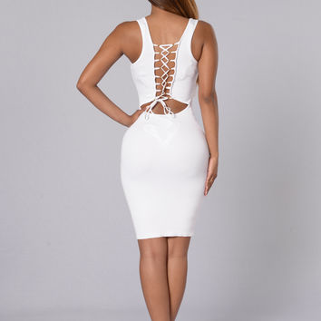 Britta Dress - Off White