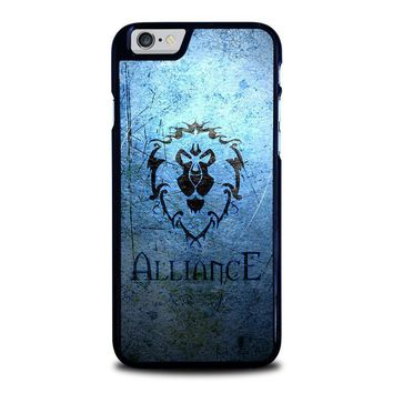world of warcraft alliance wow iphone 6 6s case cover  number 1