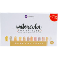 NEW! Prima Marketing Watercolor Confections Watercolor Pans 12/Pk-Shimmering Lights