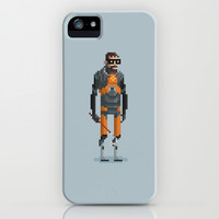 Man With a Crowbar iPhone & iPod Case by Michael B. Myers Jr.