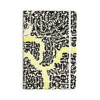 "Theresa Giolzetti ""Oliver"" Yellow Everything Notebook"