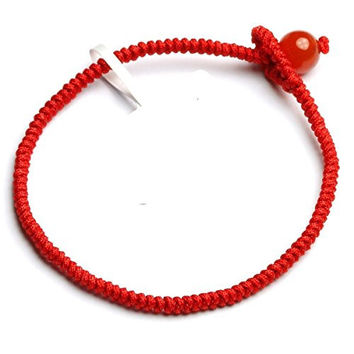 Good Luck Kabbalah Red String of Faith Rope Bracelet - Superior Quality - 100% Money Back Guarantee!