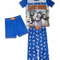 Madagascar Too Cool for Flight School PJ for boys