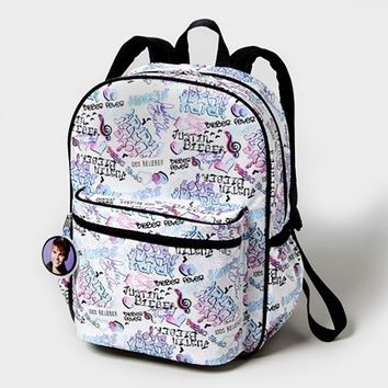 Justin Bieber Metallic Backpack  | Claire's