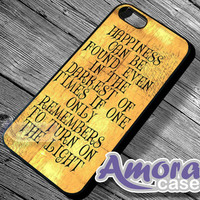 Harry potter quotes - iPhone 4/4s/5 Case - Samsung Galaxy S3/S4 Case - Blackberry Z10 - Black or White