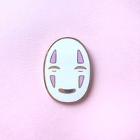 No-Face Pin from Candy Corpse