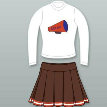 The Waterboy Mud Dogs Cheerleader Uniform