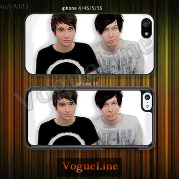 Dan and Phil , iPhone 5 case iPhone 5c case iPhone 5s case iPhone 4 case iPhone 4s case, Dan and Phil --VA183
