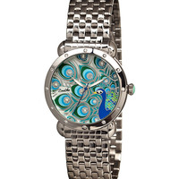Stainless Steel & Mother-of-Pearl Genevieve Bracelet Watch