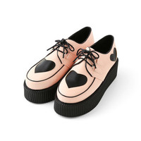 BUBBLES Rubber-Soled Heart Shoes