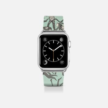 monkey mint apple watch band Apple Watch Band (38mm) by Sharon Turner | Casetify