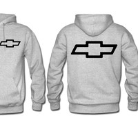 chevy hoodie chevrolet sweatshirt hoodie print on sleeve back and front