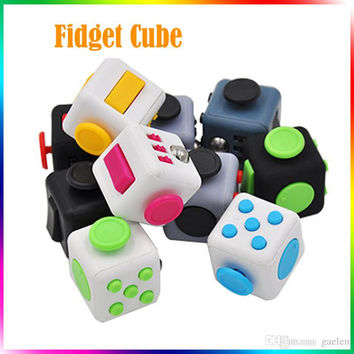 Fidget Toy Fidget Cube Plush Toy Spinner Switch Ball Finger Cube 6 Sides Decompression Anxiety Toys Beyblade Fidget Toys