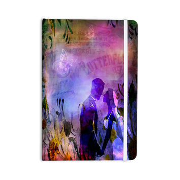 "alyZen Moonshadow ""Couple In Love"" Purple Pink Everything Notebook"