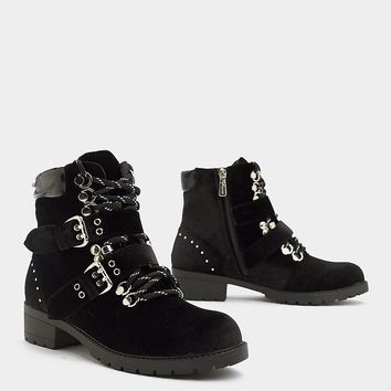 Think On Your Feet Velvet Boot
