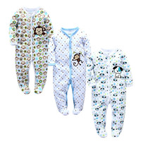 BEBES Baby Boys kigurumi Onesuit Jumpsuit Baby Girl Boy Romper Babies Cut Autumn Body Baby Costumes 0-9M Rompers Infant Clothing