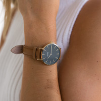 La Boheme Gold/Black/Caramel Watch - CLUSE