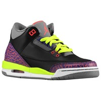 Jordan Retro 3 - Girls' Grade School at Foot Locker