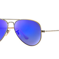 Ray-Ban AVIATOR FLASH LENSES Bronze-Copper , RB3025 | Ray-Ban® USA