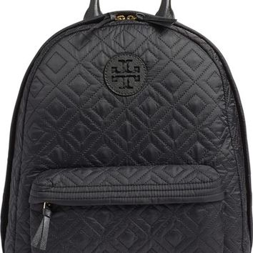 Tory Burch 'Ella' Quilted Nylon Backpack | Nordstrom