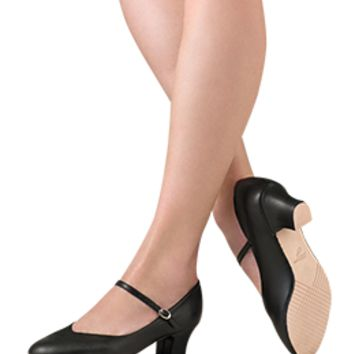 Leo Women's Black,Tan  Chorus Line Dance Shoes