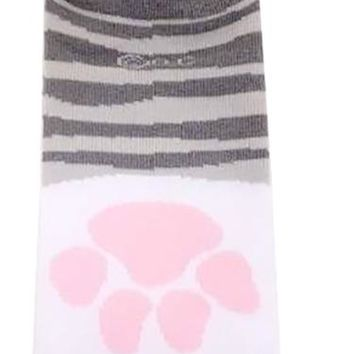 Cat Paw Socks Gray (KUTSUSHITA NYANKO)