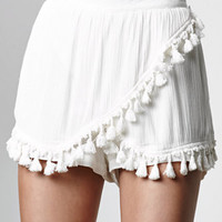 Wyldr Told You Tasseled Woven Skort at PacSun.com