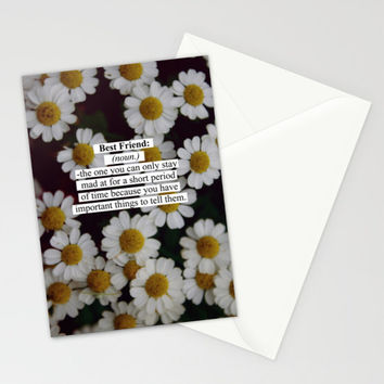 Best Friend: Stationery Cards by Sara Eshak