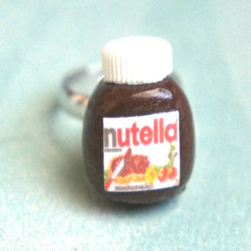 Nutella Jar Ring