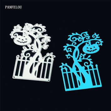 PANFELOU Christmas Pumpkin garden Scrapbooking DIY album cards paper die metal craft stencils punch cuts dies cutting
