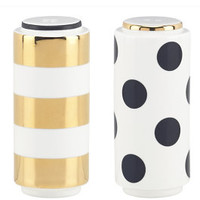 Fairmount Park Dot/ Stripe Salt & Pepper Set