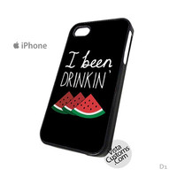 I Been Drinking Watermelon Beyonce black Phone Case For Apple,  iphone 4, 4S, 5, 5S, 5C, 6, 6 +, iPod, 4 / 5, iPad 3 / 4 / 5, Samsung, Galaxy, S3, S4, S5, S6, Note, HTC, HTC One, HTC One X, BlackBerry, Z10