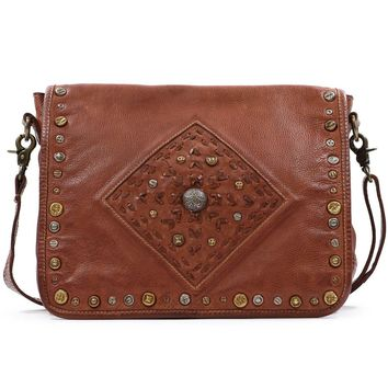 Lone Road Leather Messenger