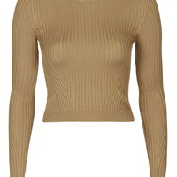 TALL Rib Crop Jumper - Topshop