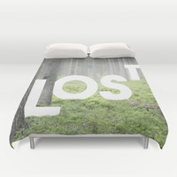 LOST Duvet Cover by Cafelab