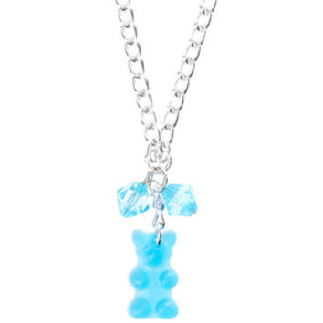 Gummy Bear Necklace - Blue