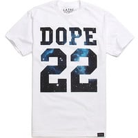 LATHC Dope Cosmic T-Shirt - Mens Tee - White - Large