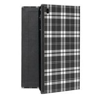 Black And White Check Powis iCase iPad Mini Case