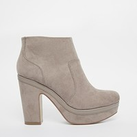 River Island Naret Through Platform Ankle Boots