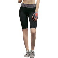 Outdoor Sports Women Yoga Running Compression Shorts New Fitness And Workout Shorts Hot Female Athletic Jogging Gym Shorts