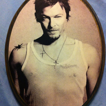 Norman Reedus Photo Plaque