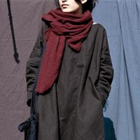 Johnature Fall Scarves