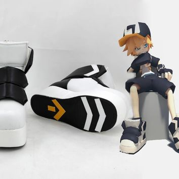 High Quality AOTU JIN Cosplay Shoe Boot Halloween Carnival Shoes