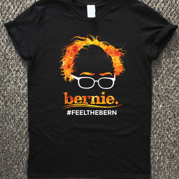 Bernie Sanders Men's Feel the Bern T-shirt unisex, men and women