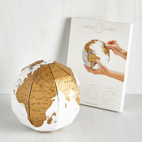 Travel On Top of the World DIY Globe by ModCloth