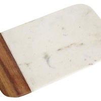 Marble and Wood Cutting Boards