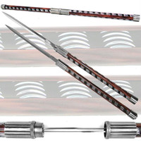 Twin Blade Baton Short Sword - 33 inches