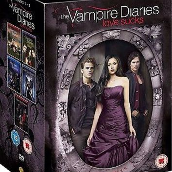 Vampire Diaries Season 1-5 Dvd BoxSet New Factory Sealed same Day Dispatch