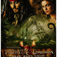 Pirates of the Caribbean Dead Man's Chest Poster 11x17