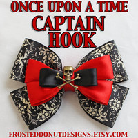 Once Upon A Time Captain Hook inspired bow!